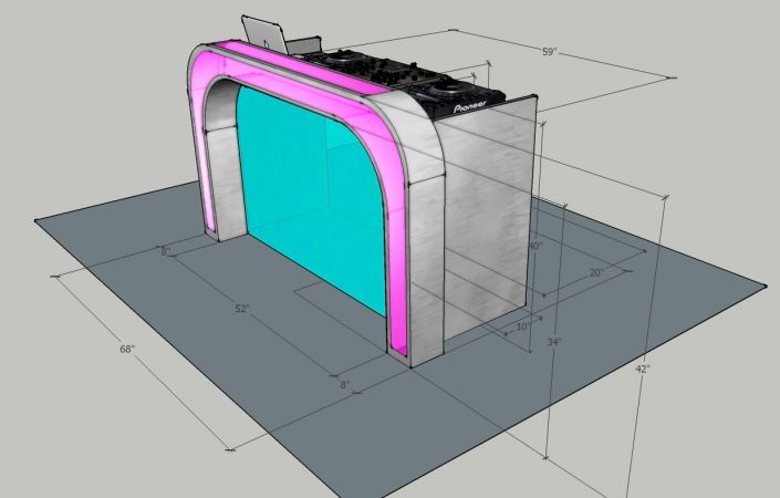 Illuminated DJ Table #205<br>1,234 x 788<br>Published 12 months ago
