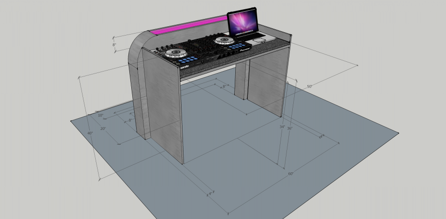 Illuminated DJ Table #208<br>2,436 x 1,200<br>Published 12 months ago